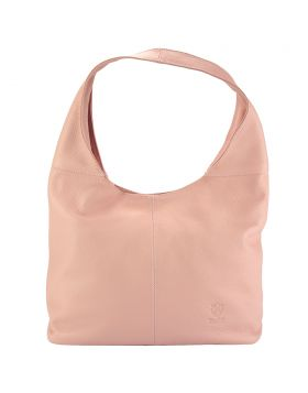 The Caïssa leather bag - Pink