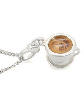 LOS436-18 - 925 Sterling Silver Silver Chain Pendant No Stone No Stone