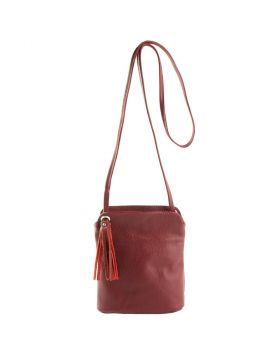 Cindy Crossbody Bag - Bordeaux