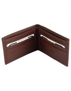 Ernesto leather wallet - Brown