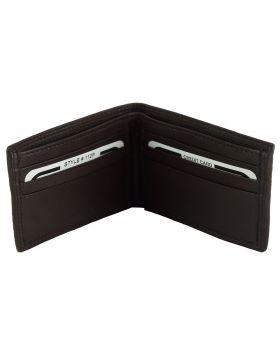 Ernesto leather wallet - Dark Brown