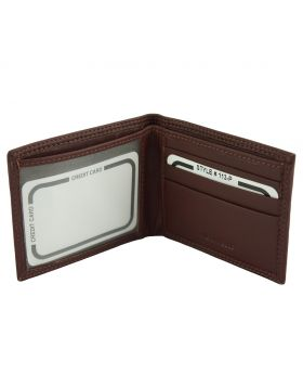 Leo Mini leather wallet