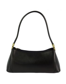 Cirilla leather handbag - Black