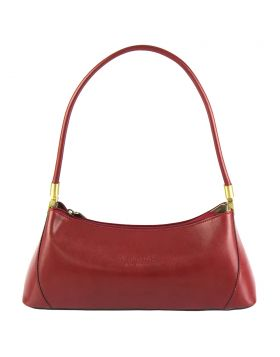 Cirilla leather handbag - Red