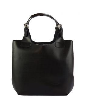 Beatrice leather Handbag - Black
