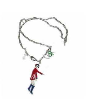 Ladies' Necklace V&L VJ0146CL