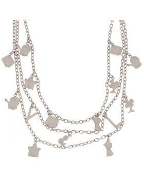 Ladies'Necklace V&L VJ0255CO