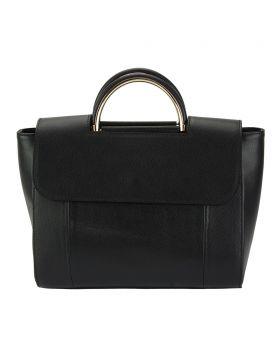 Melissa leather Handbag - Black