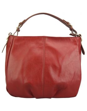 Tournon leather shoulder bag - Red