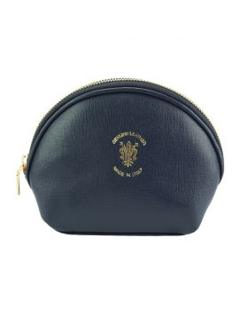 Zippy leather coin purse - Dark Blue