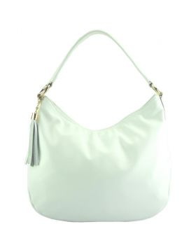 Selene leather Hobo bag