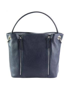 Silvia leather bag - Blue