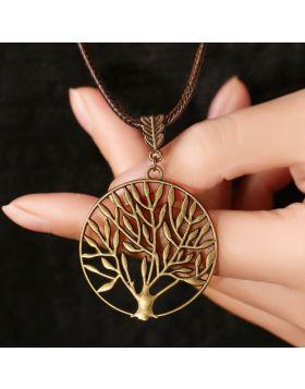 Vintage Life Tree Necklace