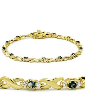 46803-7 - Brass Gold Bracelet Synthetic Montana