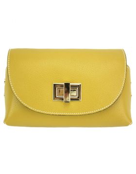 Martina GM leather bag -  yellow