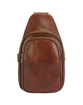 Nissim V Sling Bag -  brown