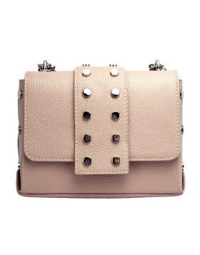 Favorite leather cross-body bag -  pink