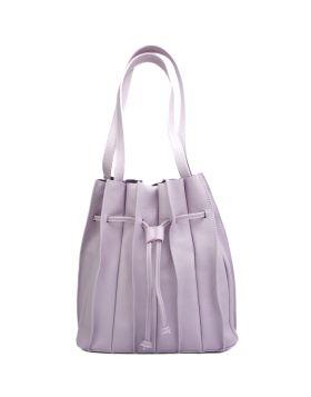 Amalia leather bag -  purple