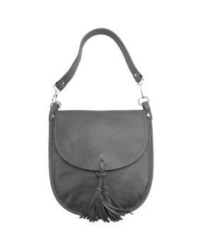 Elisa cross-body bag -  dark grey