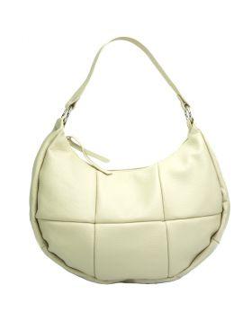 Dafne leather bag -  beige