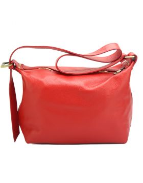 Iolanda leather Shoulder bag -  light red