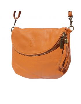 Rachele leather crossbody bag - Tan