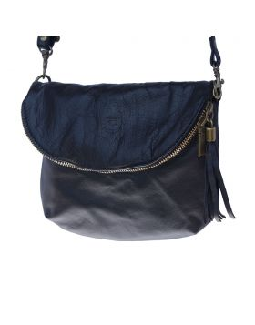 Rachele leather crossbody bag - Black