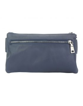 Waist bag in leather Vivaldo