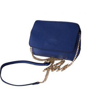 Classic Leather Pochette - Blue