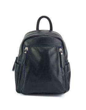 Santina leather Backpack - Blue