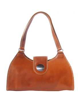 Florina leather handbag - Tan