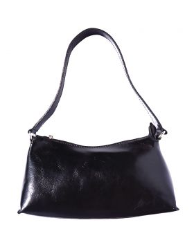 Priscilla leather handbag - Black