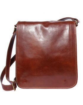 Mirko MM leather Messenger bag - Brown