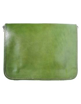 Business Briefcase (w/ shoulder strap) - Dark Green