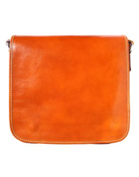 Christopher Messenger Bag - Tan
