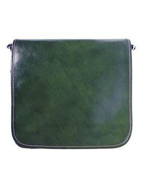 Christopher Messenger Bag - Dark Green