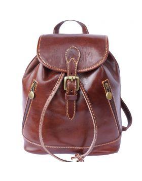 Luminosa Leather Backpack purse