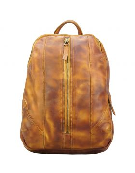 Armando Backpack in vintage calfskin - Tan