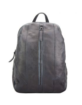 Armando Backpack in vintage calfskin - Dark Brown