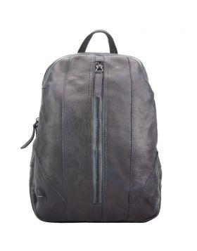 Armando Backpack in vintage calfskin - Dark Brown