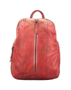 Armando Backpack in vintage-calfskin - Red
