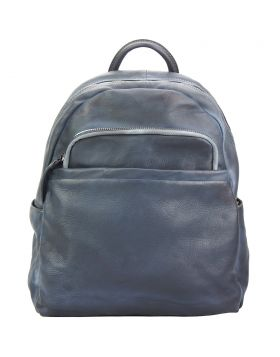 Jake Backpack in vintage calfskin Grey