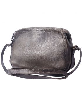 Twice GM leather crossbody bag - Ebony