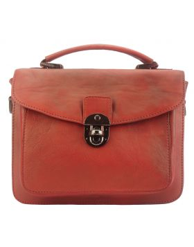 Montaigne GM vintage leather Handbag - Red
