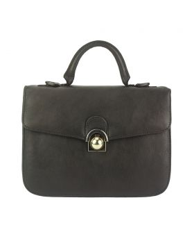 Very Leather Handbag - Dark Brown