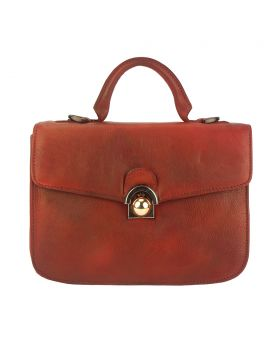 Very Leather Handbag - Red