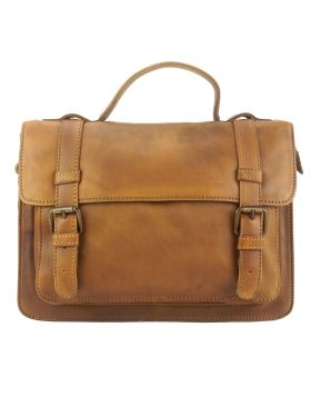 Nazareth leather Handbag - Tan