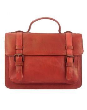 Nazareth leather Handbag - Red