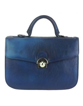 Very GM Leather Handbag - Blue