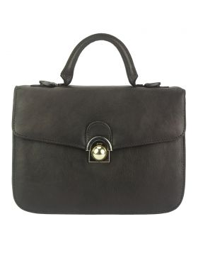Very GM Leather Handbag - Dark Brown